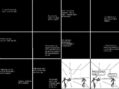 The story of science and its battle with religion, depicted in one image - CLICK FOR A LARGER VERSION